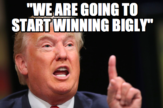 Image result for trumpisms bigly